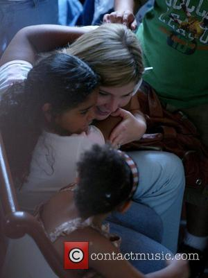 Jenna Bush and Laura Bush