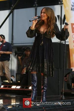Jennifer Lopez performs on 'Good Morning America's' fall concert series at ABC studios New York City, USA - 09.10.07...