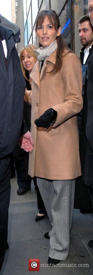 Jennifer Garner, Rockefeller Plaza, NBC