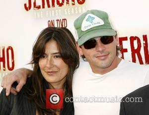 Skeet Ulrich and Alicia Coppola