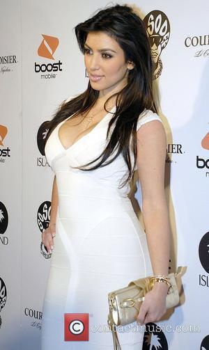 Kim Kardashian and Jermaine Dupri