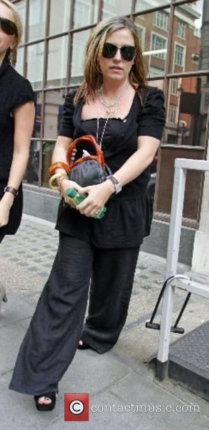 Jessie Wallace leaving a radio station London, England - 08.05.07