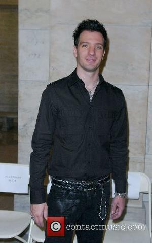 JC Chasez Mercedes-Benz Fashion Week New York Spring 2008 at The New York Public Library - Jill Stuart- Inside New...