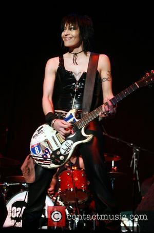 Joan Jett and the Black Hearts performing at the Nottingham Arena  Nottingham, England - 11.11.07