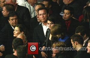 Catherine Zeta Jones and Arnold Schwarzenegger