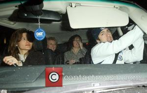 Joe Cole leaving Stamford Bridge with his girlfriend Carly Zucker after his team Chelsea won against Arsenal 2-1 London, England...