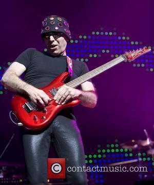 Joe Satriani  performing at Symphony Hall for the first date of his 2008 European tour  Birmingham, England -...