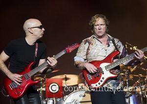 Joe Satriani performing at Manchester Apollo Manchester, England -15.05.08