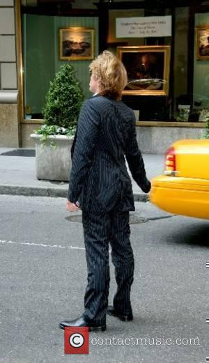 John Bon Jovi hailing a taxi after leaving his hotel In Midtown Manhattan New York City, USA - 18.06.07