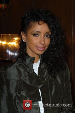 Mya (aka Mya Harrison) Mercedes-Benz Fashion Week New York Spring 2008 at Cipriani - John Frieda - Backstage New York...
