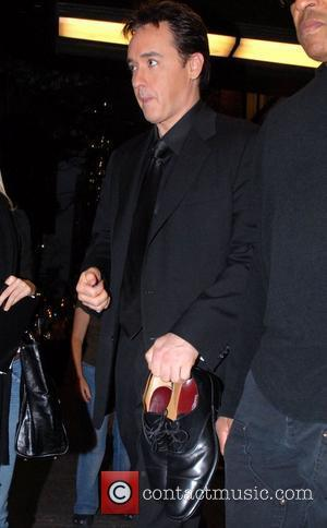 John Cusack outside NBC Studios after an appearance on 'Late Night with Conan O'Brien' New York City, USA - 18.10.07