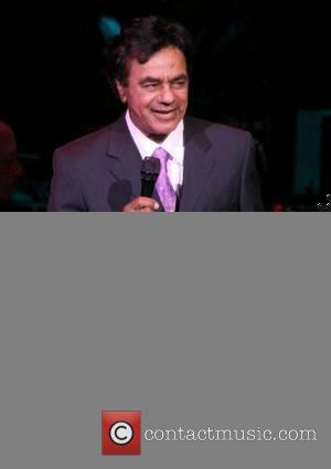 Johnny Mathis performing live at the Hilton Hotel and Casino Las Vegas, Nevada - 11.05.07
