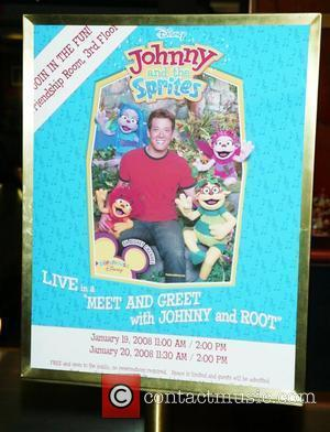 In-store appearance with Johnny and Root from...
