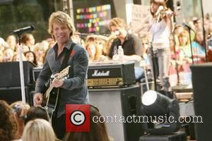 Bon Jovi performs live at Rockefeller Plaza on the 'The Today Show Summer Concert Series' New York City, USA -...