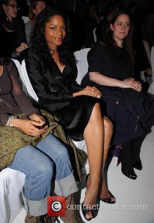 Naomie Harris London Fashion Week Autumn/Winter 2008 - Julien Macdonald - Front Row London, England - 15.02.08