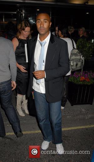Colin Jackson ,   London Fashion Week Spring/Summer 2008 - The Julien Macdonald catwalk show - departures London, England...