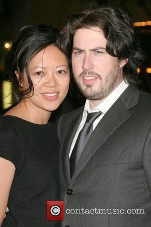 Jason Reitman and wife Michele Lee Los Angeles premiere of