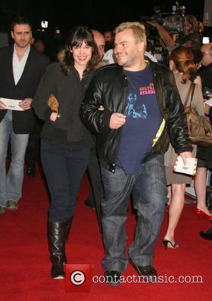 Tanya Haden and Jack Black Premiere of 'Juno' held at the Mann Village Theater - Arrivals Westwood, California - 03.12.07