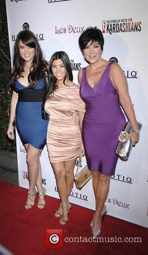 Khloe Kardashian, Kourtney Kardashian and Kris Jenner