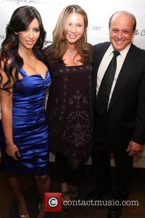 Kim Kardashian, Marina Bresler and Tony Ardito