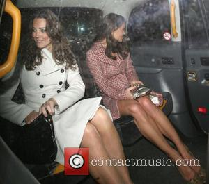 Kate Middleton and her sister Pippa leaving Kitts nightclub, on her 26th birthday. London, England - 10.01.08
