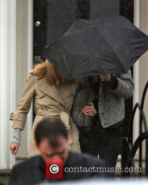 Kate Moss and Davinia Taylor