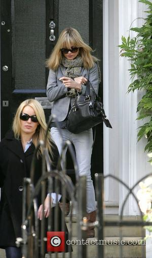 Kate Moss and Davinia Taylor