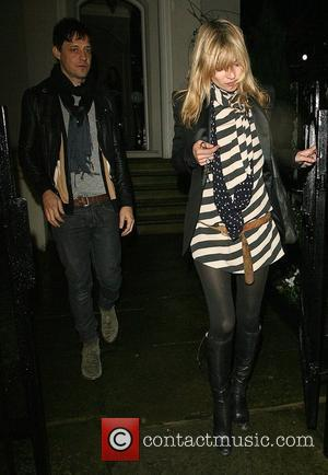Kate Moss, Her Boyfriend Jamie Hince Leave Her Best Friend Davina Taylor's Home, At 1am and Having Spent The Evening There.