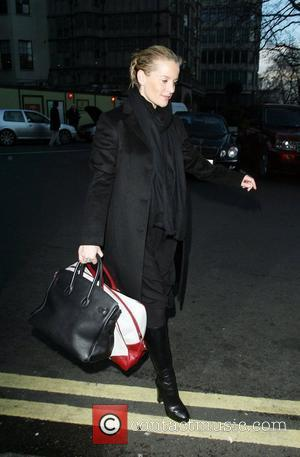 Davinia Taylor arriving at The Dorchester for Kate Moss' birthday tea party at China Tang London, England - 16.01.08