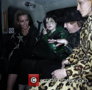 Davinia Taylor, Kate Moss and Kelly Osbourne