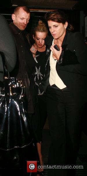 Davinia Taylor and Kate Moss