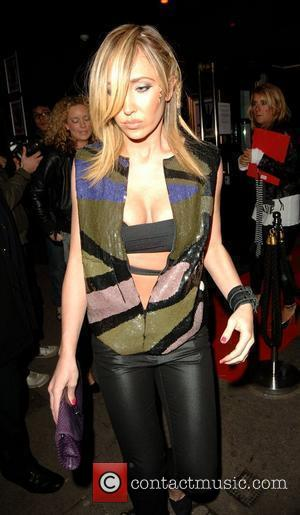 Jenny Frost leaving the Punk nightclub  where Kate Moss held her 34th birthday party London, England - 16.01.08