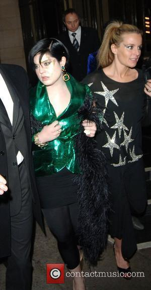 Kelly Osbourne and Davinia Taylor