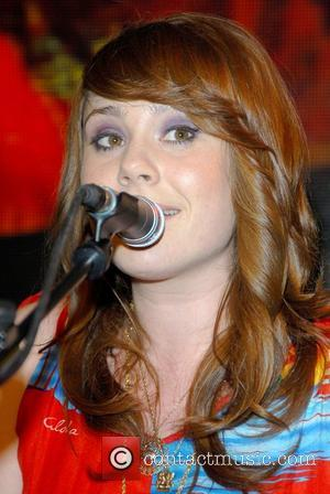 Kate Nash and Signs Copies Of Her New Cd 'made Of Bricks' At Hmv Oxford Street
