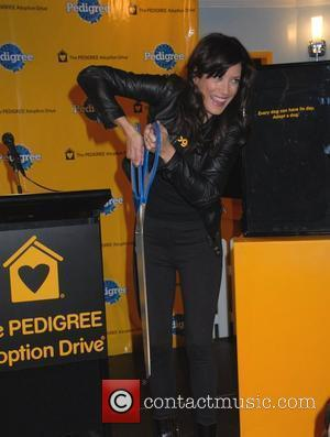 Kate Walsh at the Pedigree Adoption Drive in Times Square New York City, USA - 07.02.08