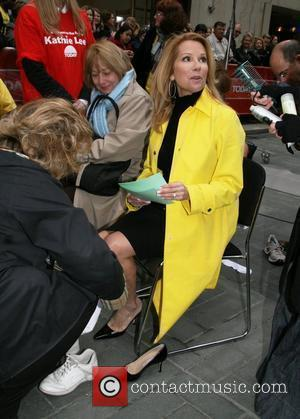 Kathie Lee Gifford on her first day as co-host of the fourth hour of NBC's 'The Today Show' New York...