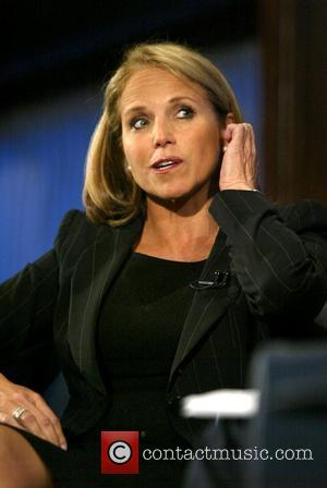 Katie Couric  speaks at the National Press Club about her working life on The CBS Evening News Washington DC,...