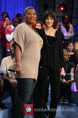 Queen Latifah and Katie Holmes