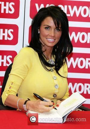 Katie Price aka Jordan  signs autographs of her new book 'Jordan - Pushed To The Limit' at Woolworths Leeds,...