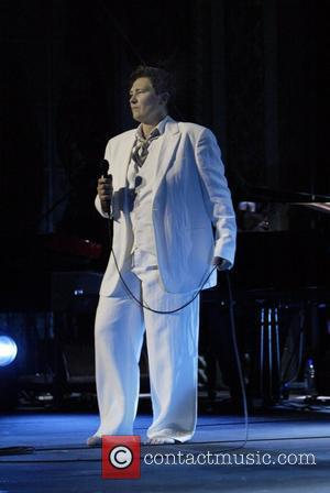 KD Lang  performing live in concert at the State Theatre as part of her Watershed tour Sydney, Australia -...