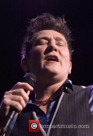 KD Lang performing live in concert at the Glasgow Royal Concert Hall Glasgow, Scotland - 29.01.08  (Photo by Wattie...