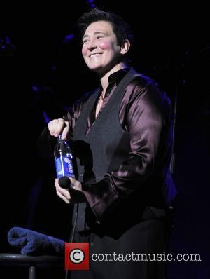 KD Lang  performing live at Hammersmith Apollo London, England - 30.01.08