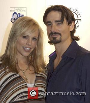 * BACKSTREET BOY IS A DAD BACKSTREET BOYS star KEVIN RICHARDSON and his wife KRISTIN had an Independence Day to...