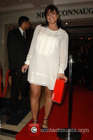 Jade Goody leaving Kickers Urban Music Awards 2007  held at the New Connaught Rooms London, England - 03.11.07
