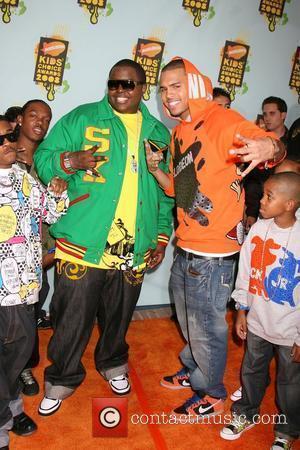 Sean Kingston, Chris Brown 20th Annual Nickelodeon's Kids' Choice Awards 2008 held at UCLA Pauley Pavilion Westwood, California - 29.3.08