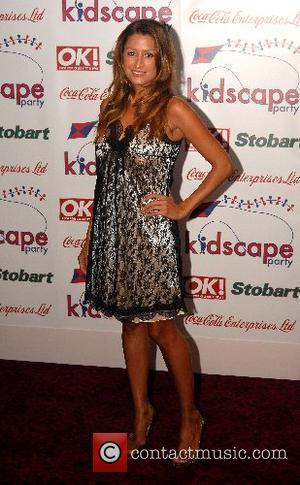 Rebecca Loos Kidscape fundraiser at Grosvenor House Hotel - Arrivals London, England - 28.09.07