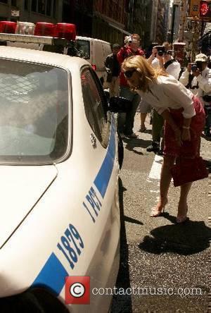 Kim Cattrall walking around Soho New York City, USA - 14.05.07