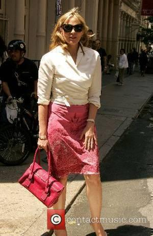 Kim Cattrall walking around Soho New York City, USA - 14.05.07