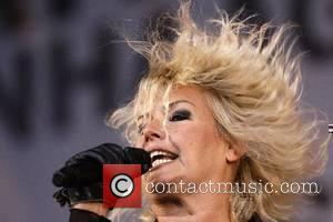 Kim Wilde performing at the Free Music Festival 27 Edition of