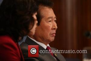 Dr. Kim Dae-Jung former President of the Republic of Korea and Nobel Peace Prize Laureate gave a speech called